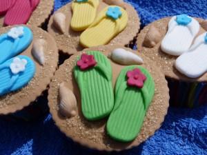 zomer cupcakes
